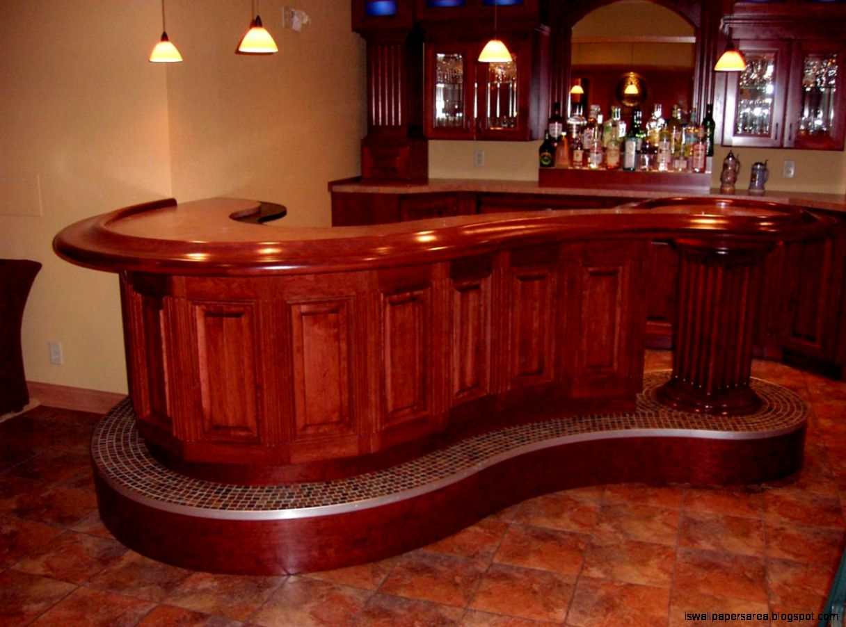 Custom Outdoor Bars For Home Various Design