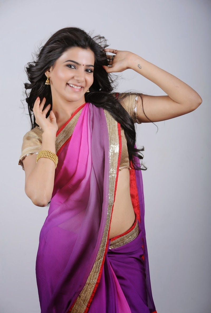 actress hd gallery: samantha cute saree hd hot photo galleryz