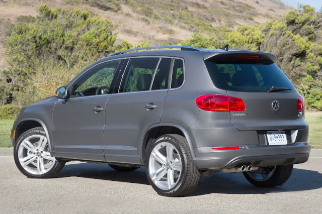 2015 all new Volkswagen Tiguan more power back view