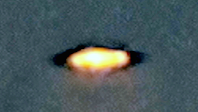 Glowing Disk UFO Caught Over Phoenix Arizona 2015, UFO Sightings