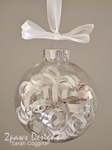Supplies ornament clear ornament ribbon wedding invitation
