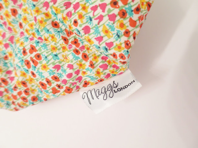 What I Got For Christmas Presents 2015 maggs london floral make up bag