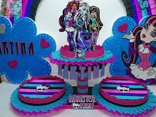 Centros de Mesa de Draculaura, Monster High