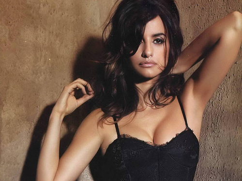 Penelope Cruz : Top 10  Hottest Hollywood Actresses