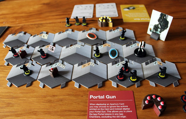 Portal board game - gameplay