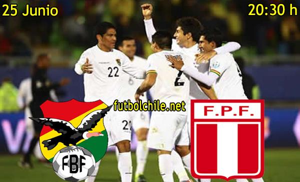 Bolivia vs Peru - Copa América - 20:30 h - 25/06/2015