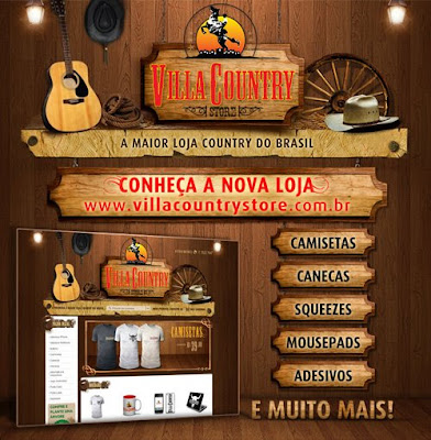 VILLA COUNTRY STORE- WWW.VILLACOUNTRYSTORE.COM.BR