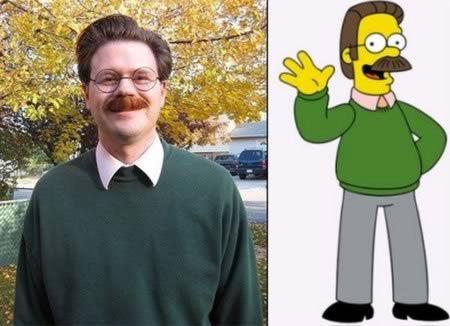 15 Orang yang Mirip Tokoh Kartun: Ned Flanders