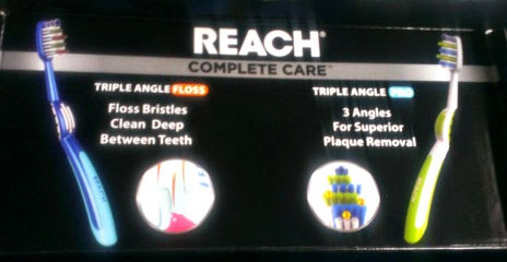 reach complete care toothbrushes