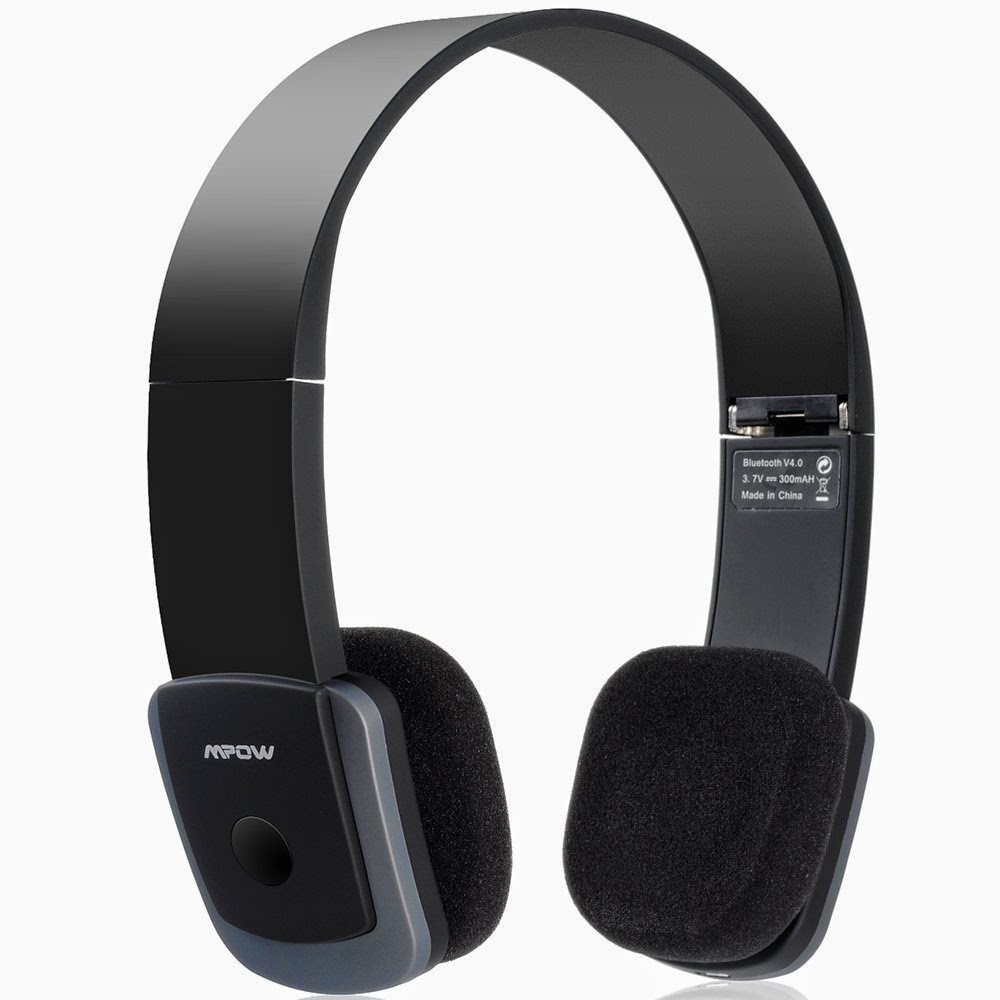 Mpow Bluetooth Foldable Headphones Headset Review