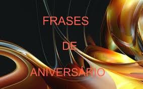 Frases De Aniversario