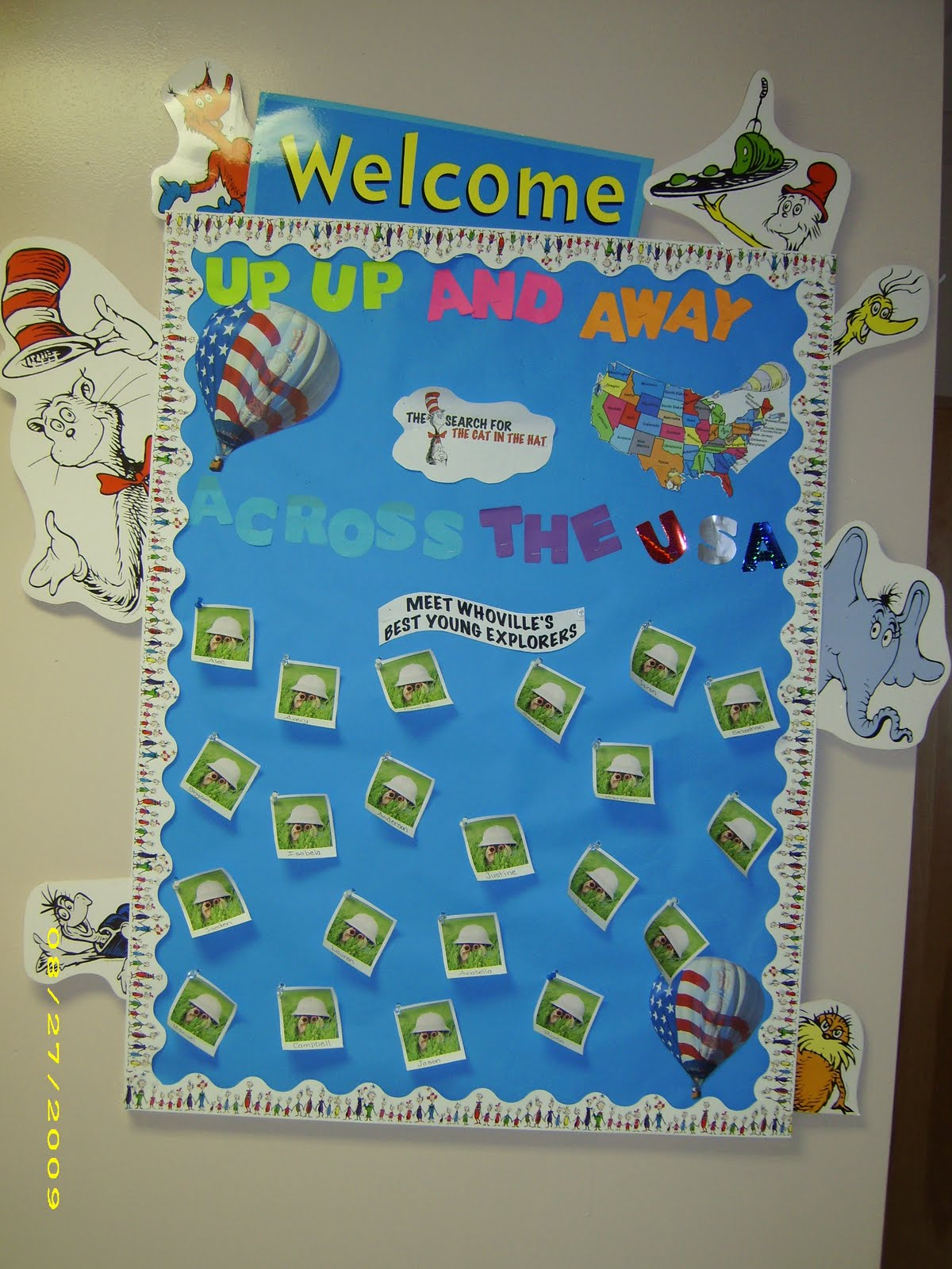 Classroom Decorations Dr Seuss ~ Dr seuss theme classroom clutter free