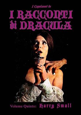 """Capolavori de """"I Racconti di Dracula"""", Vol. 5: Harry Small, 2013, copertina"""