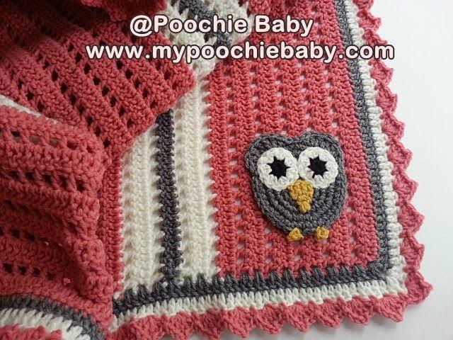 Raising Mimi @PoochieBaby: Crochet Owl Receiving Blanket ...