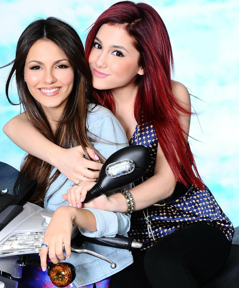 Ariana Grande and Victoria Justice Reunite: A Timeline of Their ...