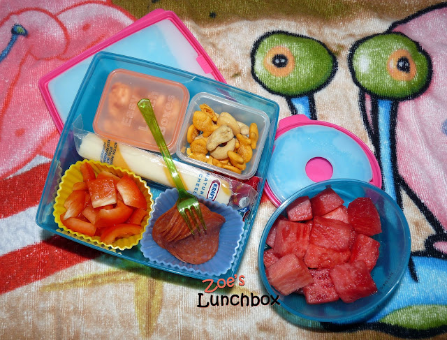 beach bento lunch