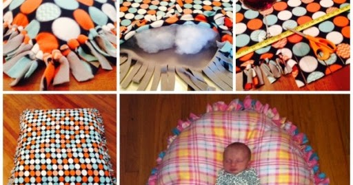 How To Make No Sew Floor Pillow ~ Idees And Solutions