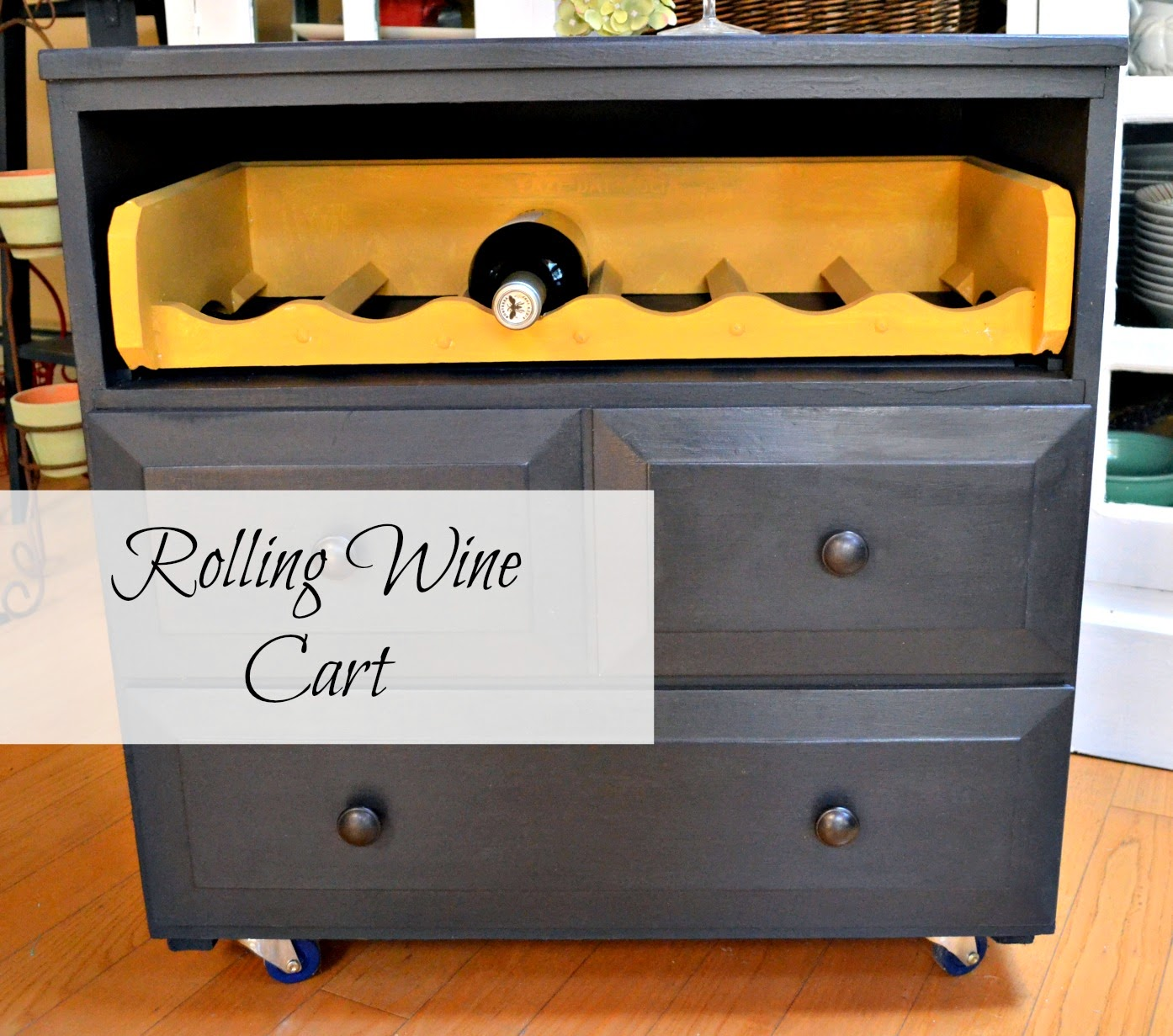 rolling-wine-cart www.homeroad.net