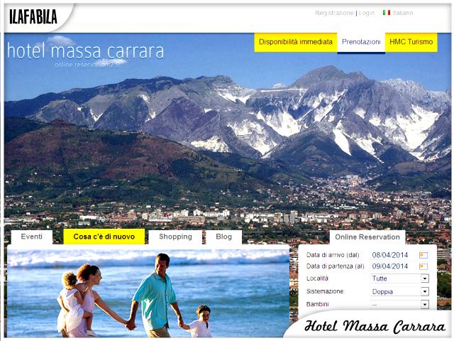 Hotel Massa Carrara - Portale