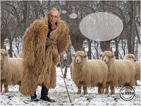 Funny photo Ion Iliescu Baci