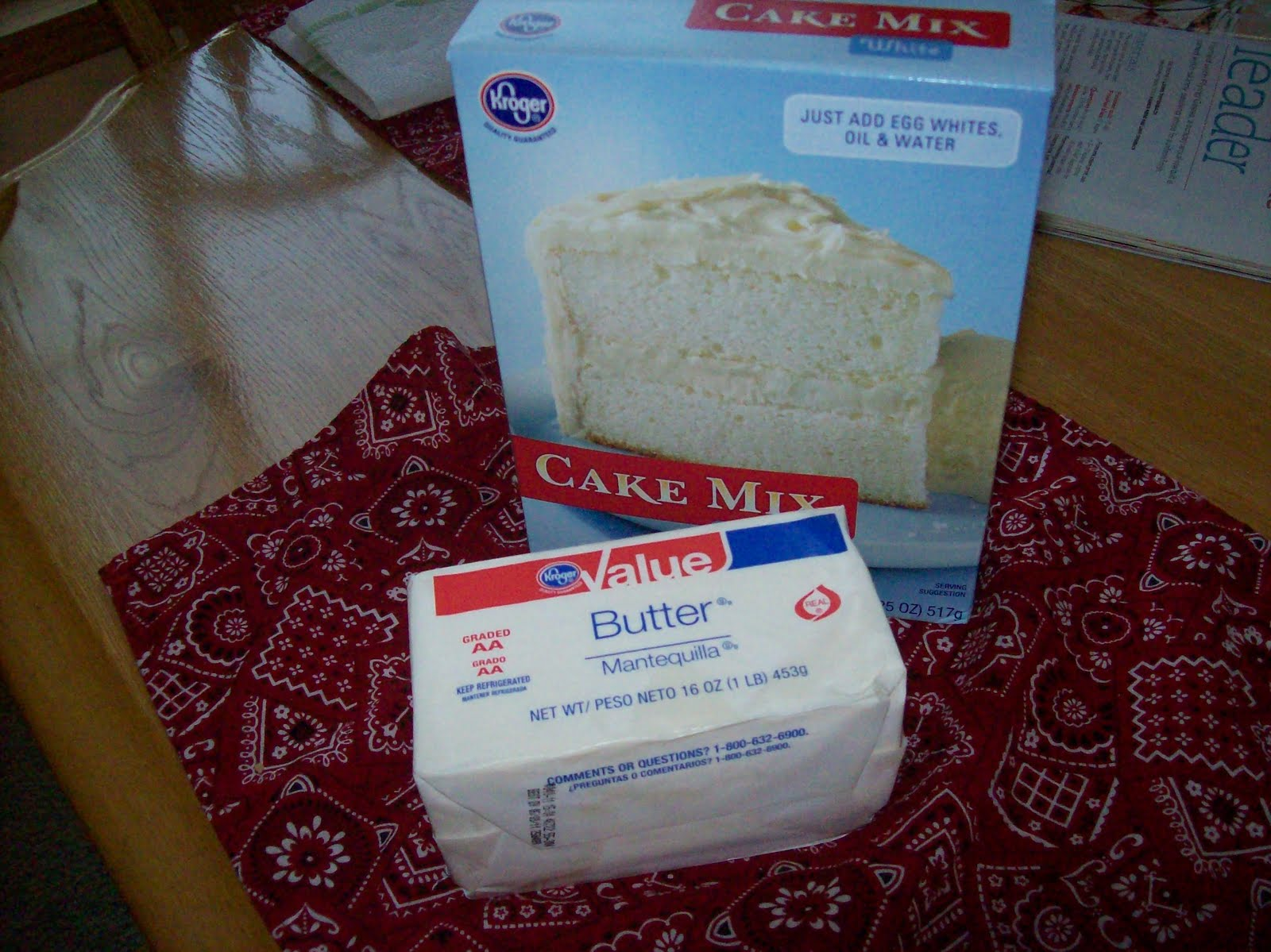 kroger cake order
