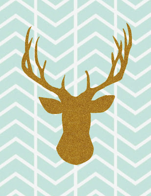 Carissa Miss: Animal Glitter Silhouette #freeprintable