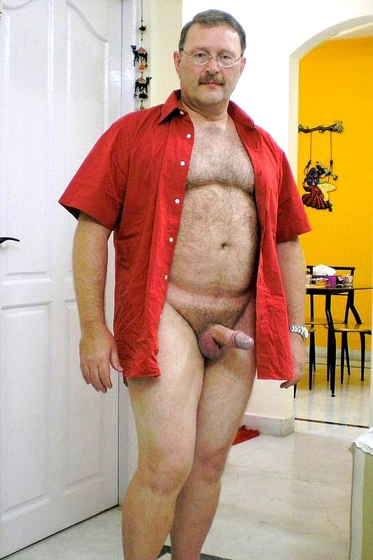 Hot sexy father naked — photo 6