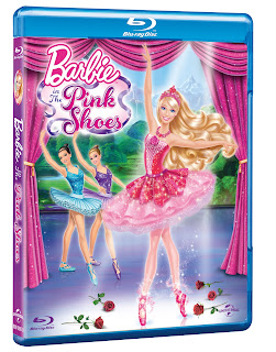 Barbie DVD, Barbie in The Pink Shoes, Barbie