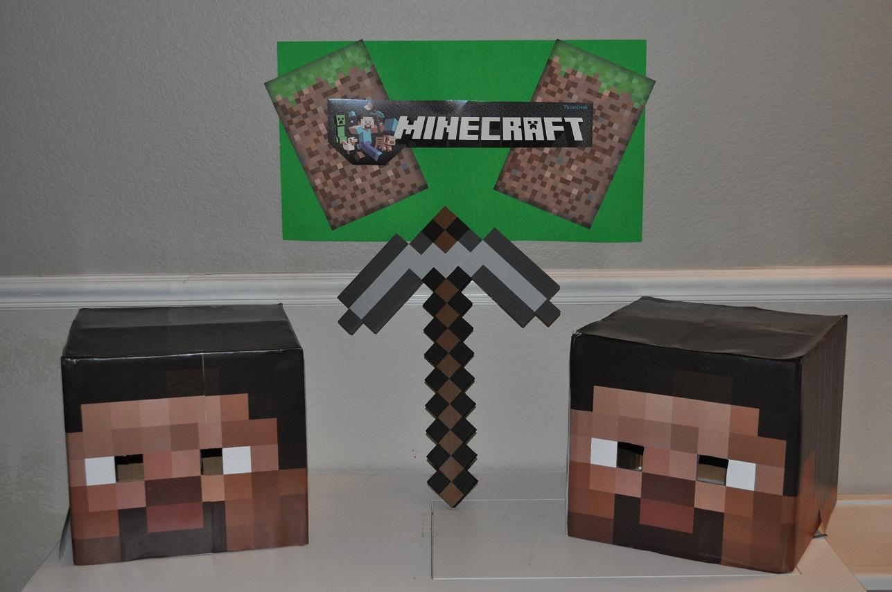 Gravity of motion wfmw minecraft party - Minecraft head decoration ...
