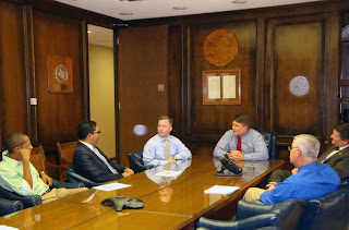 The Dominican Republic delegation met with officials from the Texas Department of Criminal Justice.