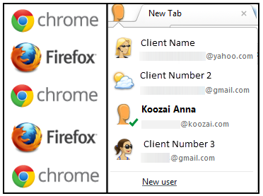 How to Manage/Login Multiple Accounts in Mozilla Firefox