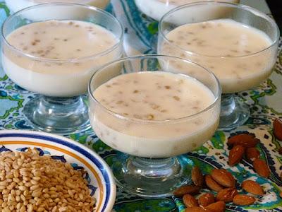 Aschura Ashura Ashoura Ägyptisches Dessert