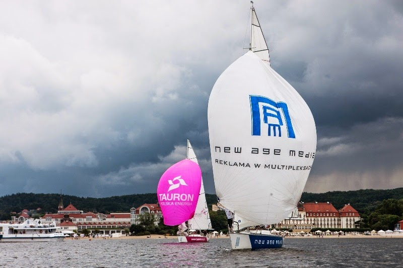Alpari World Match Racing Tour moves on to Poland