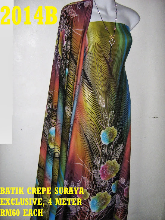 BS 2014B: BATIK CREPE SURAYA EXCLUSIVE, 4 METER