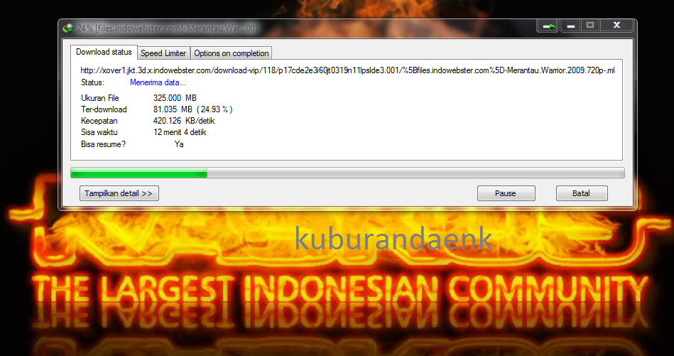 Trik Download di Indowebster Dengan SSH [FULL SPEED]