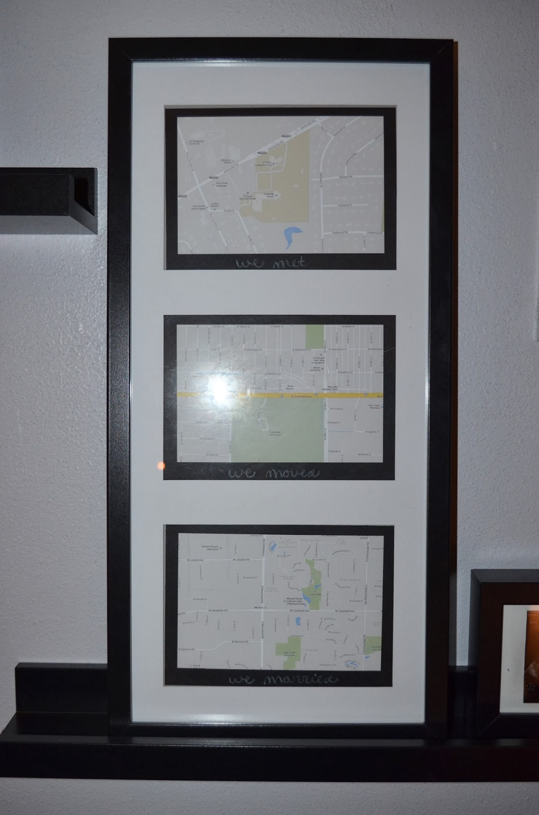 When Maps & Frames Come Together