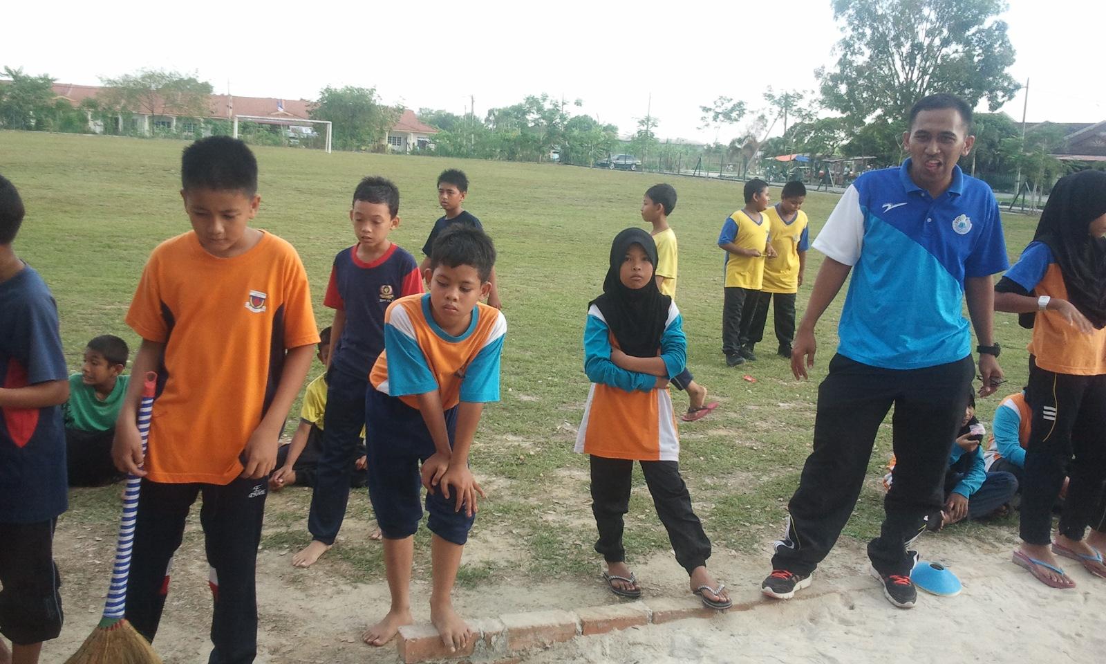Olahraga Jemputan SK Taman Palma