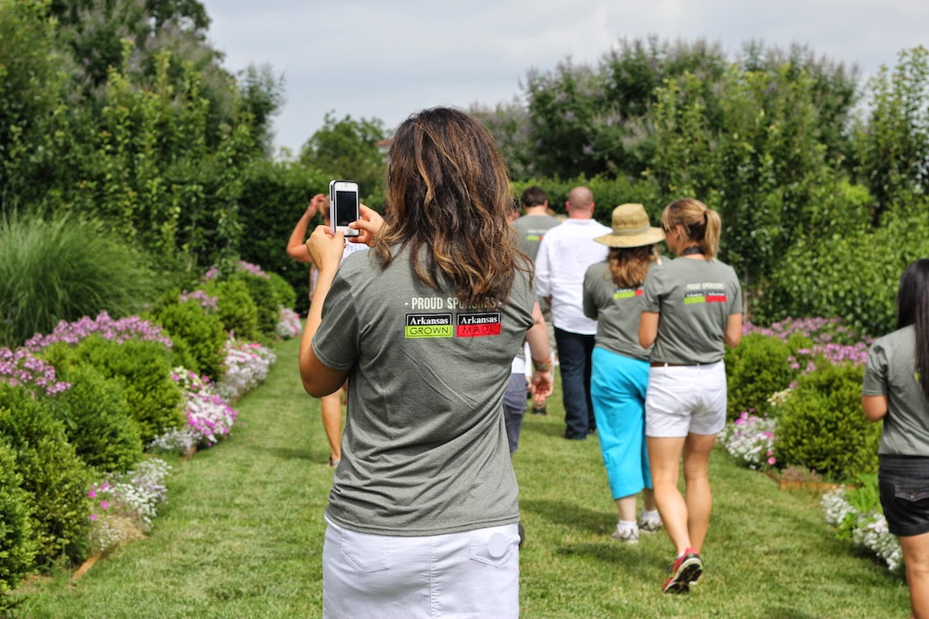 #farm2home14 P.AllenSmith GardenHome ArkansasGrown bloggers taking it all in (c)nwafoodie