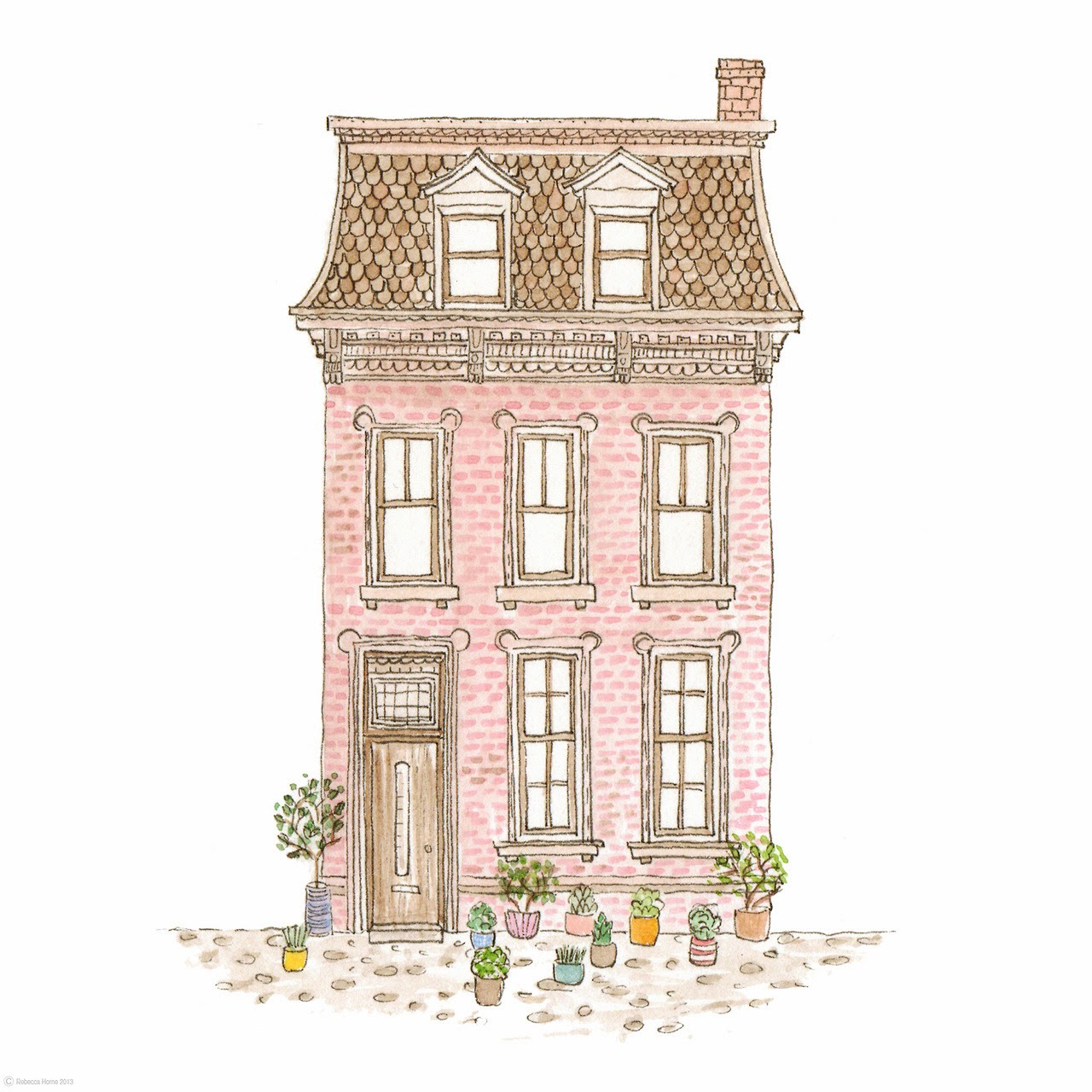 Lovesut pinturas perfeitas for How to draw a cute house