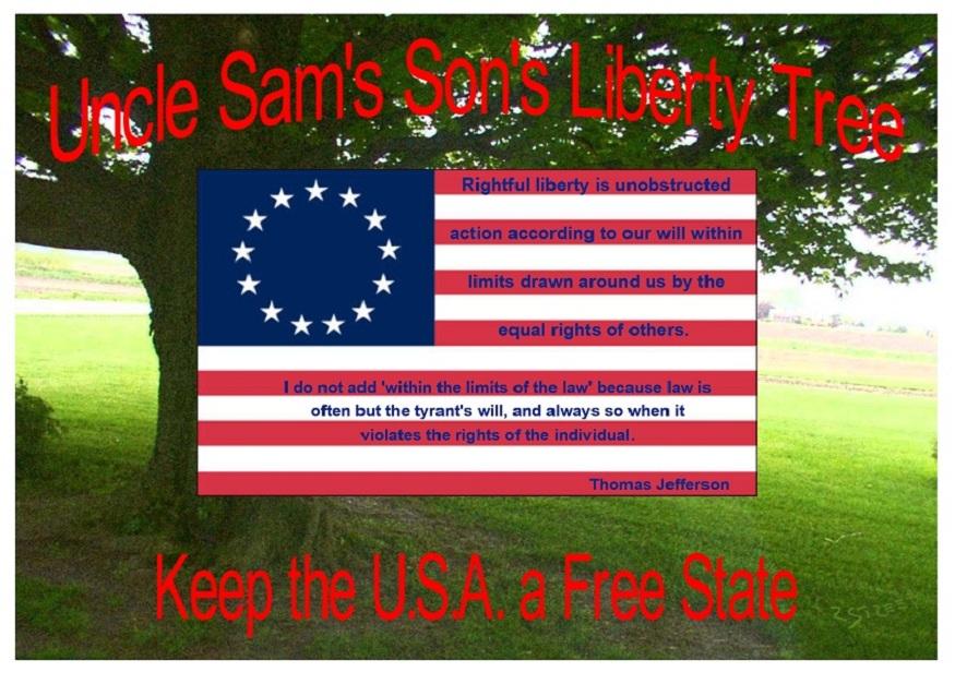 Keep the U.S.A a Free State