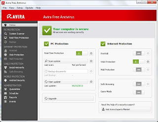 Download Avira Terbaru Antivirus 2013 Full Version Gratis