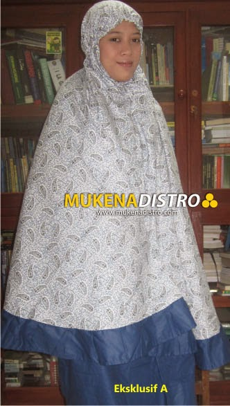 MUKENA DISTRO | EKSKLUSIF A | READY