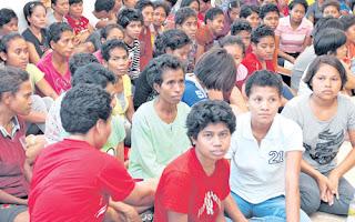 105 warga asing yang dikurung di sebuah premis di Klang, Selangor
