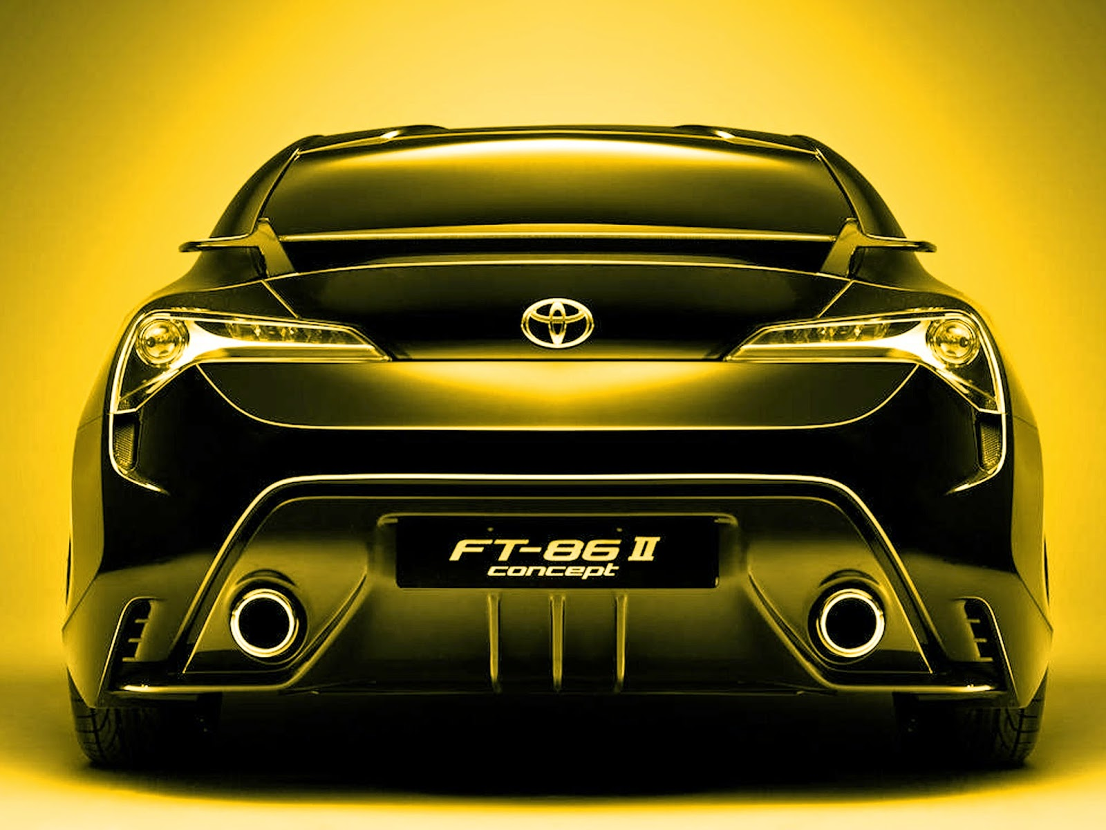 Yellow toyota ft 86 ii concept cars hd wallpaper