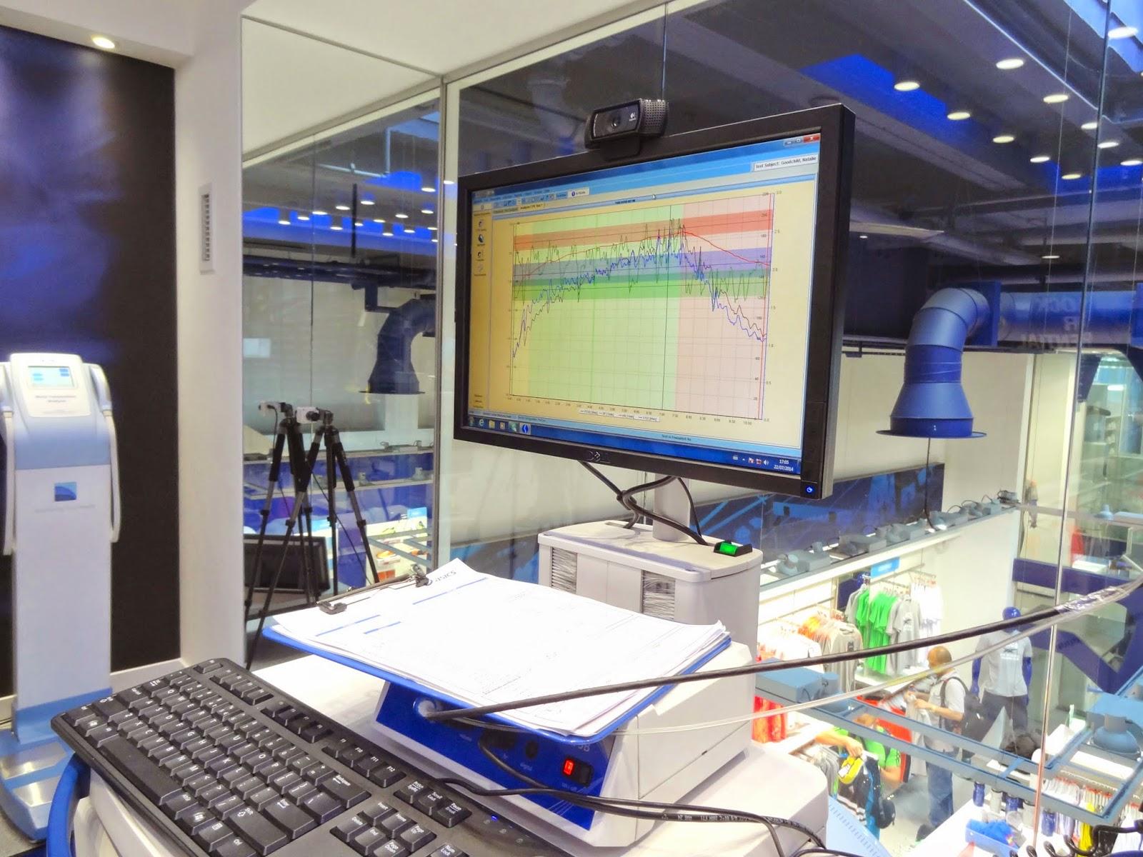 Asics Running Lab Anaerobic Threshold Testing