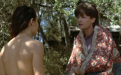 Michael J. Fox and Julie Warner in Doc Hollywood