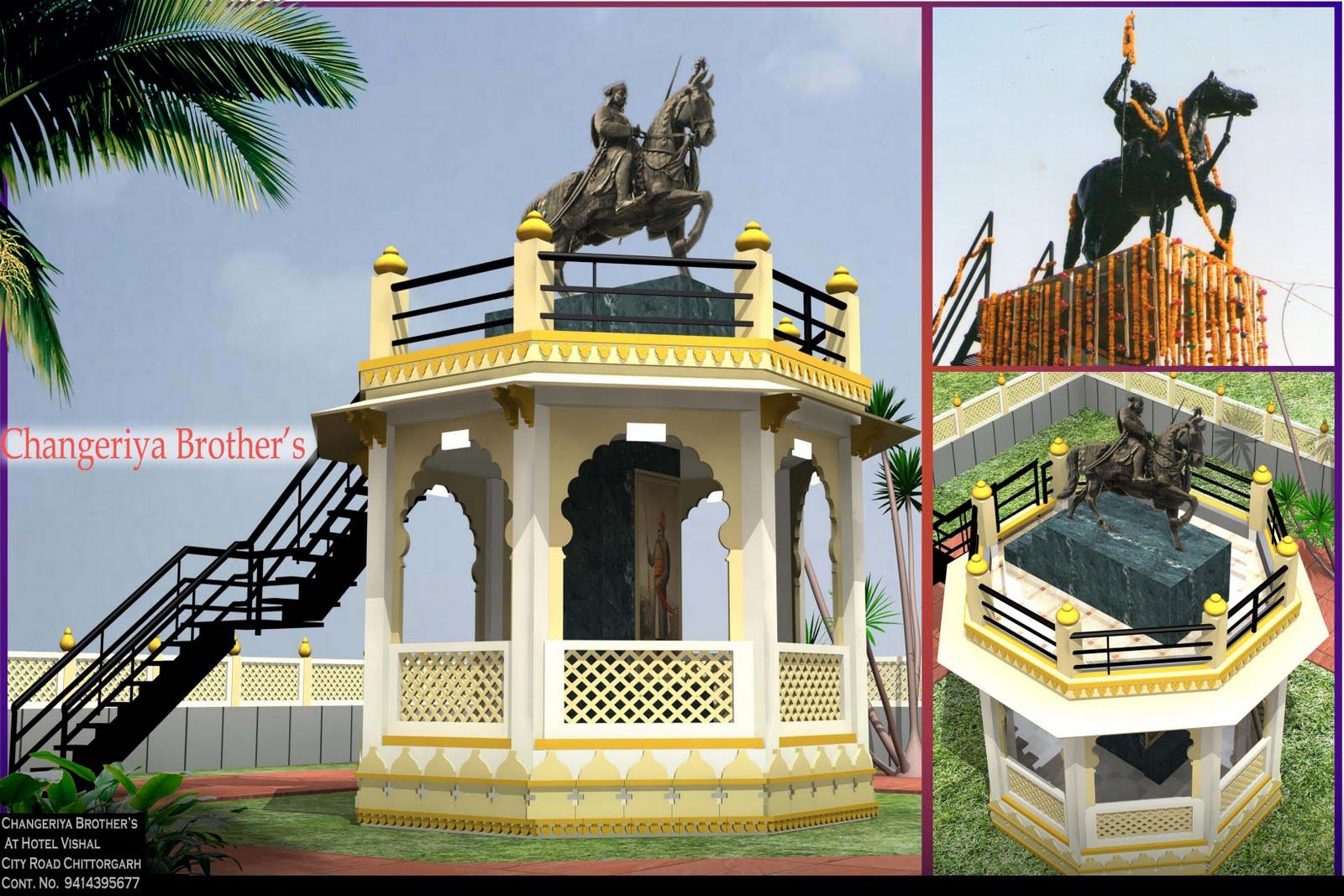 This Project for Maharana Pratap Statue Chetak Circal ChittorGarh ...