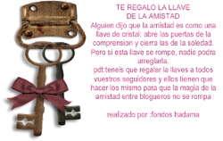 Llave de amistad