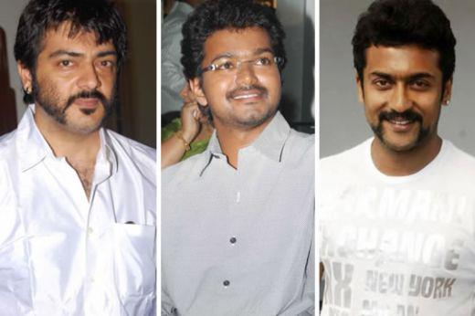 it is expected to see clash between Vijay, Ajith and Suriya ...