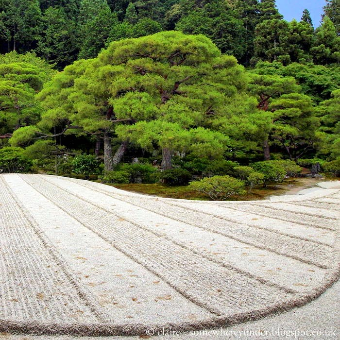 Ginkaku-ji, the Silver Pavilion garden - Kyoto Japan